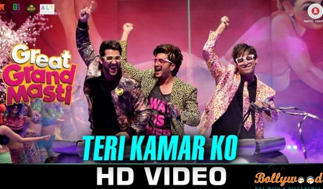 Photo of Catch the 1st song Teri Kamar Ko from Great Grand Masti