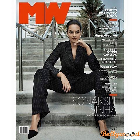 Sonakshi Sinha Features On The Latest Edition Of Man's World Magazine