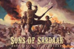 Catch the first look poster Ajay Devgn's Sons Of Sardar: Battle Of Saragarhi
