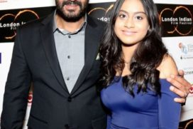 Catch Ajay Devgn with his daughter Nysa at Red Carpet