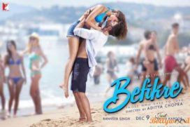 Catch Befikre New Poster Continue Their Passionate Kissing Spree