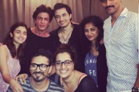 Dear Zindagi Cast & Crew Party Together before the film goes on floor