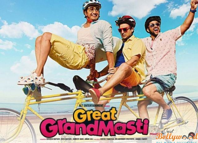 'Great Grand Masti's' Unanticipated Performance: Total Box Office Collections Till 4th Day
