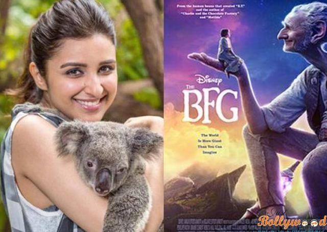parineeti-bags hollywood project -the-bfg-