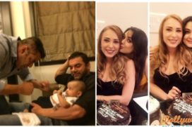 Salman Make Iulia Vantur Birthday a Family Affair