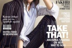 Catch Anushka Sharma in style on Filmfare Magazine cover page