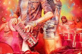 Catch Banjo's New Colourful Poster Out featuring Ritiesh & Nargis