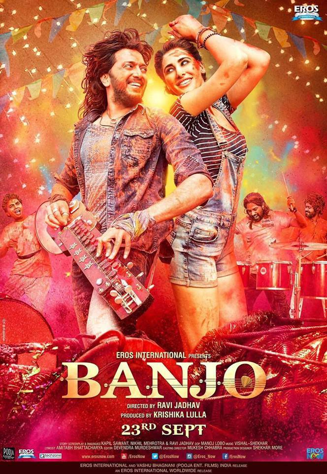 Banjo's New Colourful Poster Out