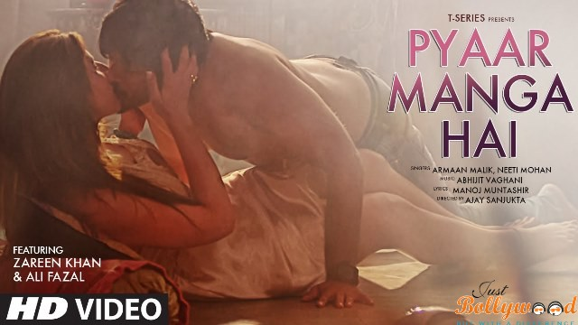 Photo of Pyaar Manga Hai Track: Ali Fazal and Zareen Khan's Uncontrollable Seductive Scenes