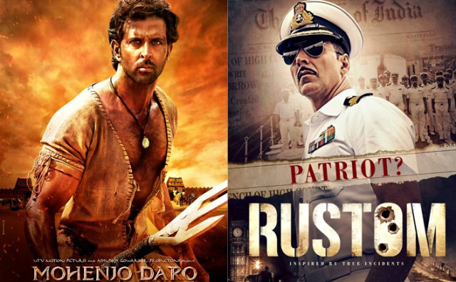 Photo of Rustom & Mohenjo Daro 1st Weekend Box Office Collection