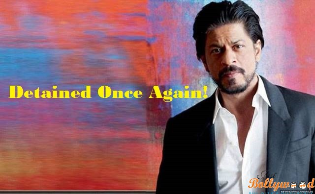 SRK detained in US