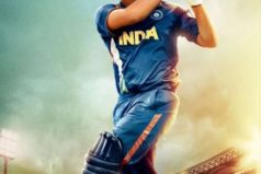 Catch M. S. Dhoni's 2nd Poster featuring Sushant Singh Rajput with his Bat In a Style