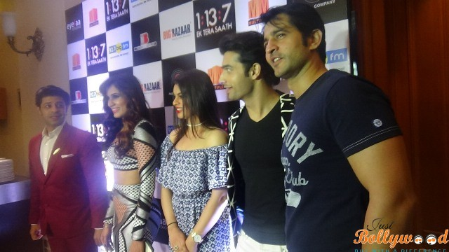 Photo of Music and Trailer Launch of EK TERA SAATH at JW MARRIOT with entire Cast
