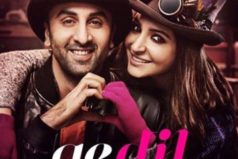Catch the brand new poster of Ae Dil Hai Mushkil featuring Ranbir & Anushka in style