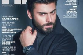 Hot Fawad Khan On Man's World Magazine's Latest Cover