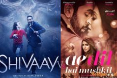 Shivay & Ae Dil Hai Mushkil First Day Box Office Collection