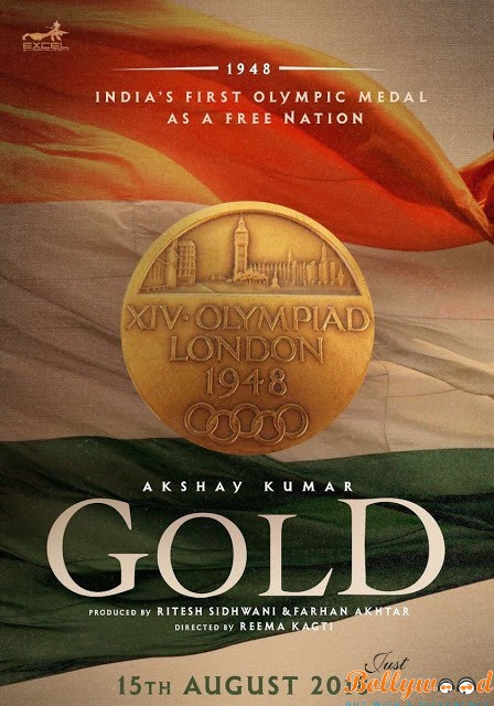 Photo of Catch First Look Poster of Gold Starring Akshay Kumar