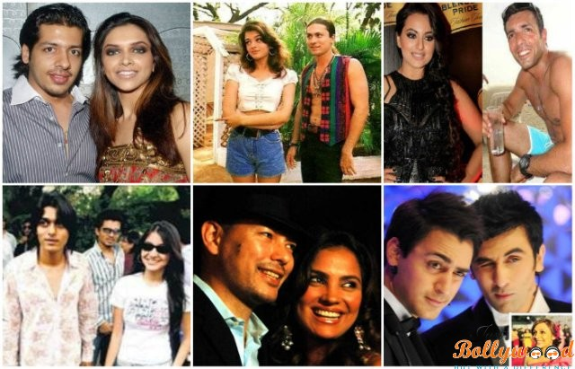 Unknown affairs of Bollywood Celebrities