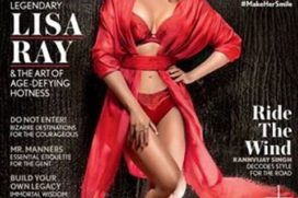 Catch Lisa Ray sizzling over Maxim cover page