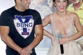Is anything is cooking between Salman Khan & Amy Jackson?