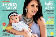 Catch Shveta & her baby look adorable on Child Magazine's cover page