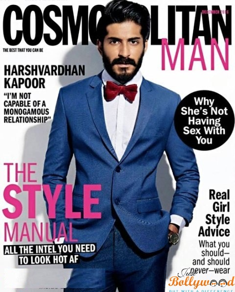 Handsome-Hunk-Harshvardhan-Kapoor-Graces-The-Cover-Of-Cosmopolitan-Man