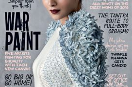 Catch Alia Bhatt in gorgeous avatar featuring On The Latest Cover Of Femina