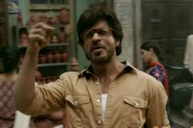 Catch Dhingana Song From Raees featuring SRK in a Most Stylish Liquor Smuggler