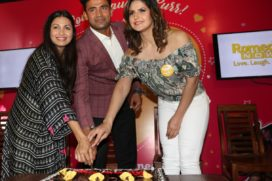Actors Richa Chadda, Zareen Khan, Chef Maria Goretti and Wrestler Sangram Singh celebrate #FurrentinesDay with Romedy NOW
