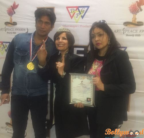 Art of peace Hollywood Awards honored Indian personality