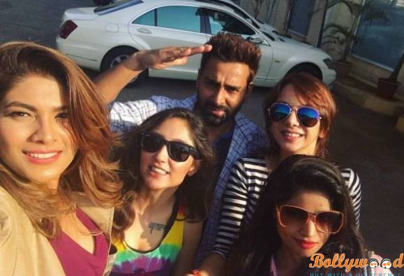 Bigg Boss 10 contestants after party