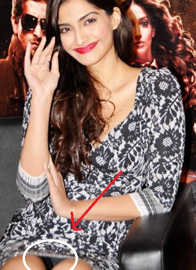 Sonam Kapoor Shocking Oops Moments