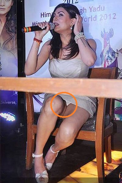 Sushmita Sen Shocking Oops Moments