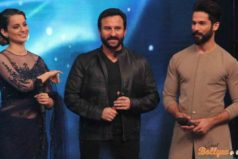 Shahid, Saif and Kangana grace the Indian Idol 9 Stage