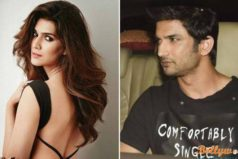 Kriti and Sushant pick up a huge fight, now avoiding each other