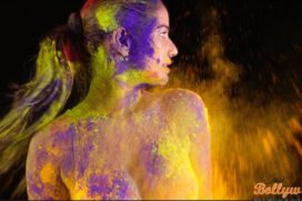 Poonam Pandey increases the degree and intensity with her brand new  Holi video.