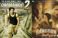 Rangoon and Commando 2 Total Box office collection