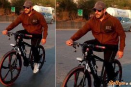 Spotted ! Salman Khan is back on Roads Spotted Enjoying A Cycle Ride In Panvel