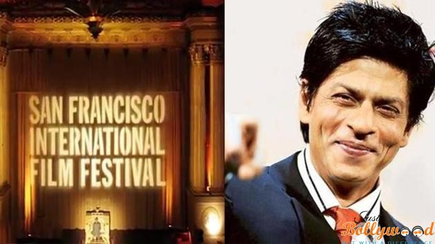SRK excited about being honoured at San Francisco