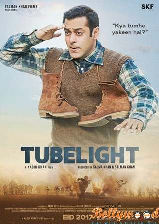 Salman Khan reveals his look from Tubelight
