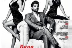 Catch Rana Daggubati with two hotties on Maxim Cover