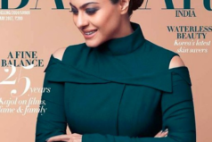 Catch Kajol on Harper's Bazaar India Cover Page