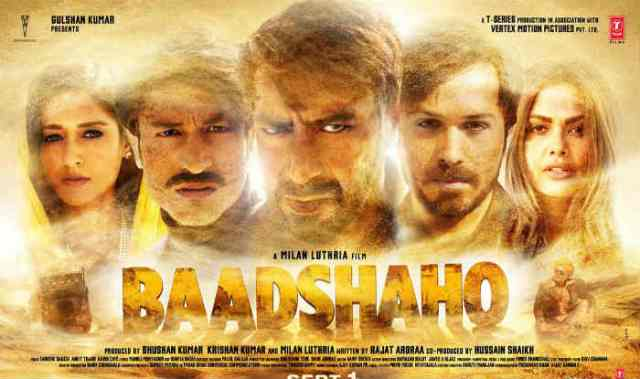 Photo of Catch Baadshaho trailer featuring Ajay Devgn, Emraan Hashmi and Vidyut Jammwal in high action