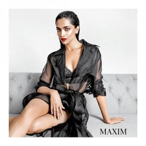 Deepika-Padukone on maxim cover page
