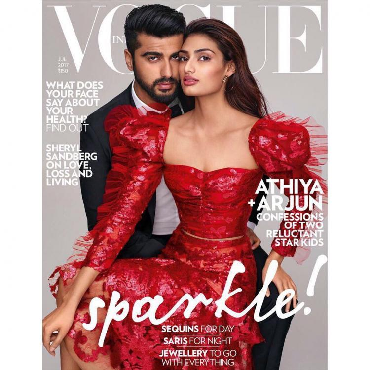 arjun and athiya on vogue
