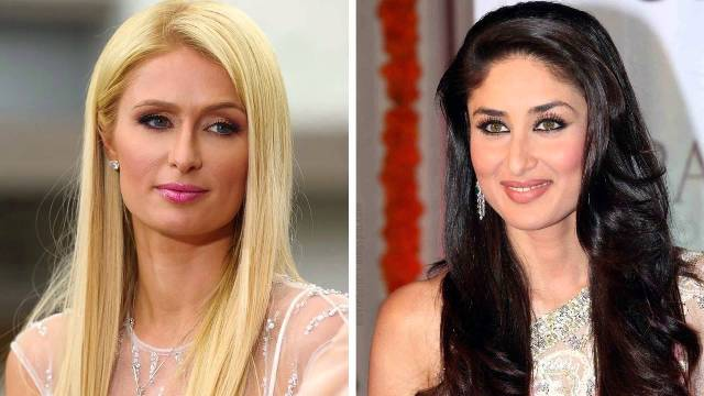 Kareena Kapoor and Paris Hilton