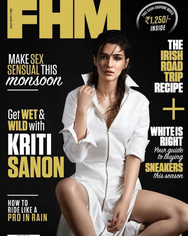 Kriti-Sanon-gets-wet-and-wild-on-the-cover-of-FHM-Magazine