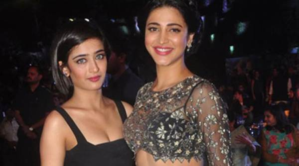 Shruti Hassan And Akshara Hassan -