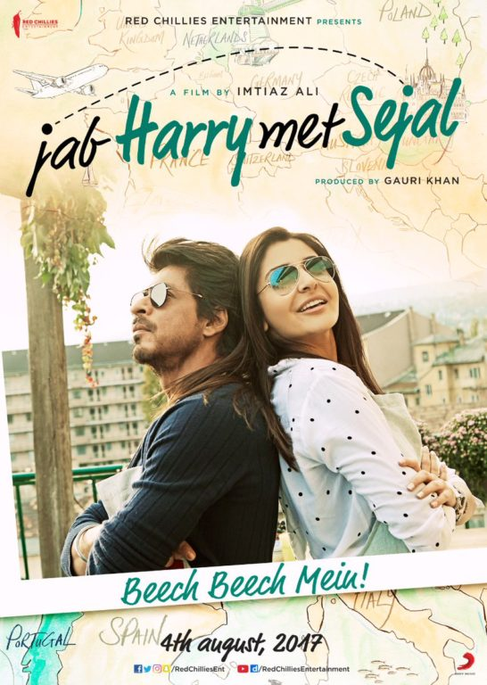 Photo of Catch Jab Harry Met Sejal new poster with lead actors in notorious mood