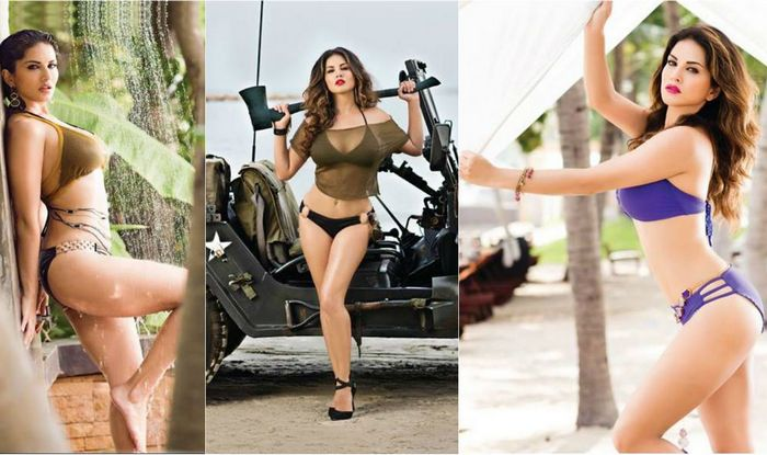 Sunny Leone Manforce calendar pictures hot